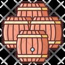 Wine Barrels Icon