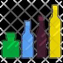 Wine Bottle Alcoholic Drink Celebration Icon