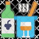 Cookbook Food Wine Icon