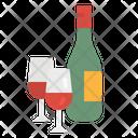 Wine Kitchen Food Icon