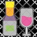 Wine Bottle Wine Alcohol Icon