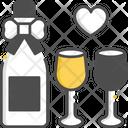 Wine Bottle Alcohol Bottle Champagne Bottles Icon
