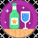 Wine Bottle Whisky Alcohol Icon