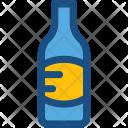Champagne Bottle Drink Icon