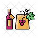 Bottlebag Winery Wine Icon