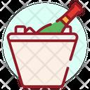 Wine Bucket Champagne Wine Icon