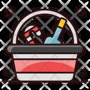 Wine Bucket Chilled Wine Alcoholic Beverage Icon