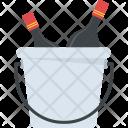 Wine Bucket Champagne Icon