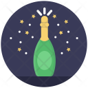 Wine Party Christmas Icon