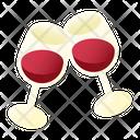 Wine Cheering Icon