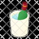 Wine Chilling Bucket Chilling Bucket Wine Bucket Icon