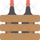 Champagne Bottles Wine Icon