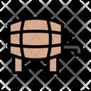 Drum Wine Barrel Icon