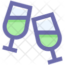 Drink Alcohol Glass Icon