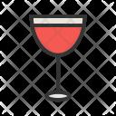 Wine Goblet Glass Icon