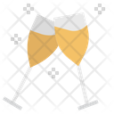 Wine Glasses Icon