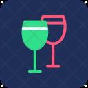 Wine Drink Glasses Icon