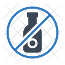 Wine Not Allowed Icon
