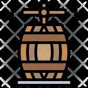 Press Wine Press Barrel Icon