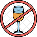 Wine Restriction Restriction No Wine Icon