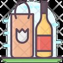 Wine Shopping Icon