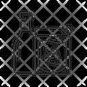 Linear Icon Wine Icon