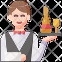 Wine Waiter Icon