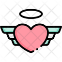 Wing Love Heart Icon