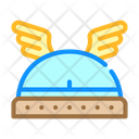 Winged Viking Helmet Icon
