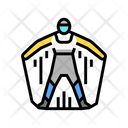 Wingsuit Extreme Active Icon