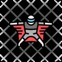 Flying Wingsuit Sportsman Icon