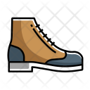 Wingtip Boot Shoes Icon