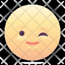 Wink Emoji Smiley Icon