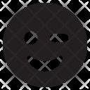 Wink Face Emoji Icon