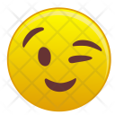 Wink Happy Look Icon