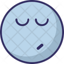 Wink Night Sleeping Icon