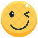 Wink Emoji Emotion Icon