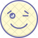 Wink Signals Expression Icon