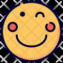 Wink Emot Emoji Icon