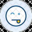 Wink A Emoji Expression Icon