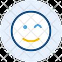 Wink B Emoji Expression Icon