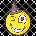 Wink Emoticon Icon