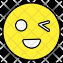 Wink Emoji Wink Emoticon Emoticon Icon