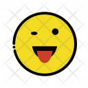 Wink face Icon
