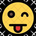 Wink Tongue Icon