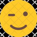 Winking Emoji Smiley Icon
