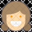 Winking Laught Emotion Icon