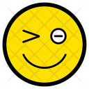 Winking Smiley Wink Icon