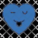 Winkingfacewitheye Heart Feeling Icon