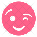 Wink Smiley Flirting Icon